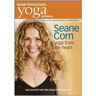 Yoga Journal: Yoga from the Heart DVD with Seane Corn