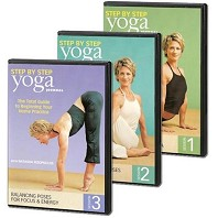 Yoga Journal: Step-By-Step: 3-Pack with Natasha Rizopoulos