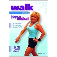 Walk with Joyce Vedral : Low-Impact Workout For Cardio Health