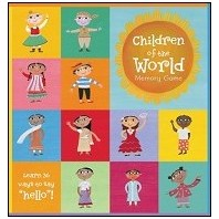 Children of the World Memory Game  by Barefoot Books